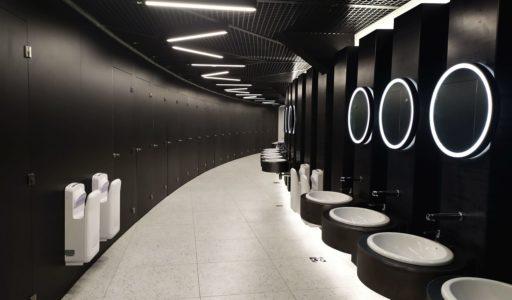 Toalety w Spodku w Katowicach